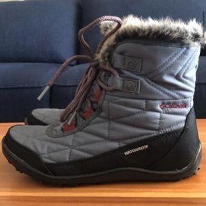 Waterproof Columbia Minx Shorty Winter Boots